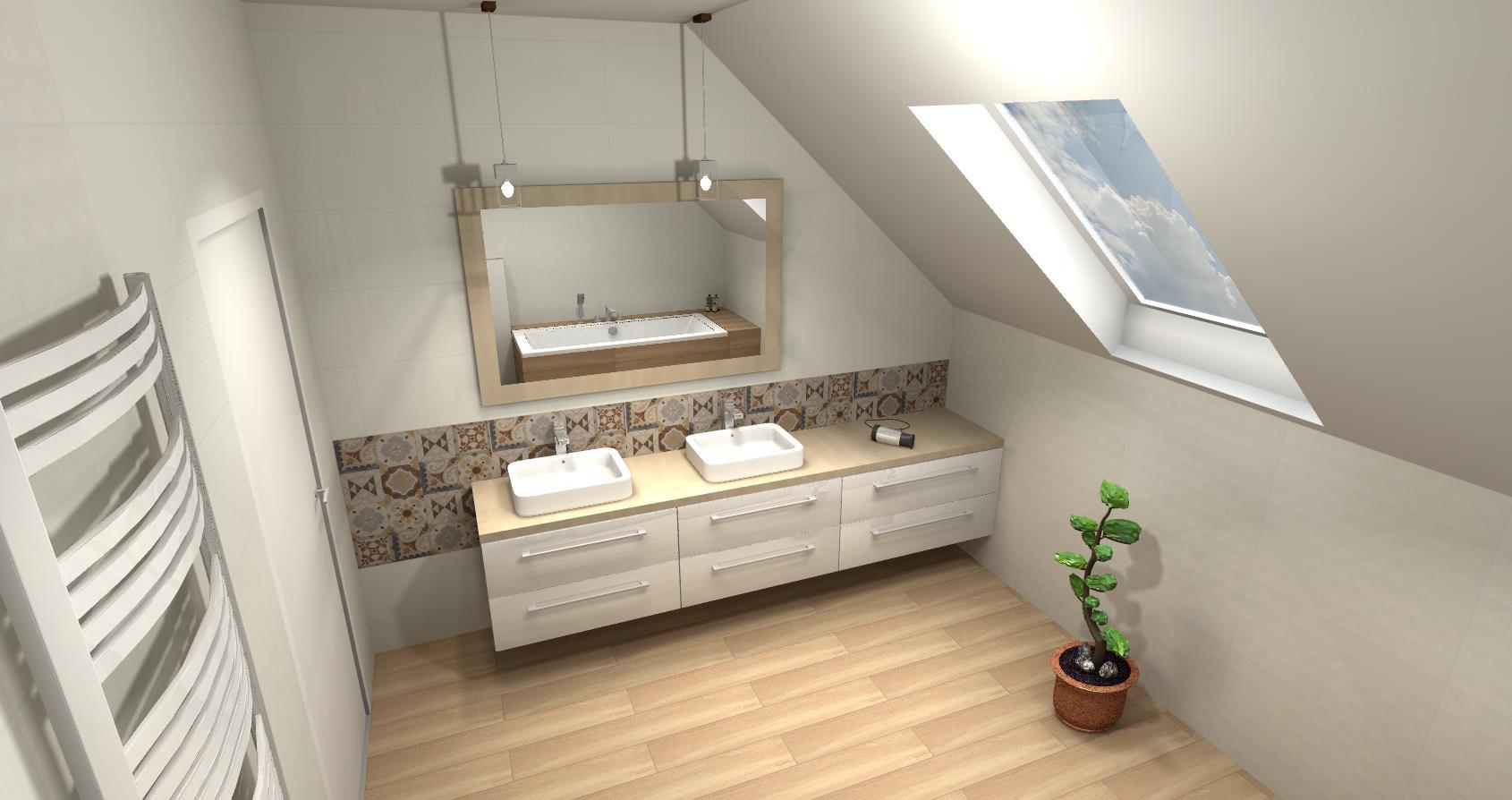 Mojabudowapl Wpis Wizualizacja łazienki